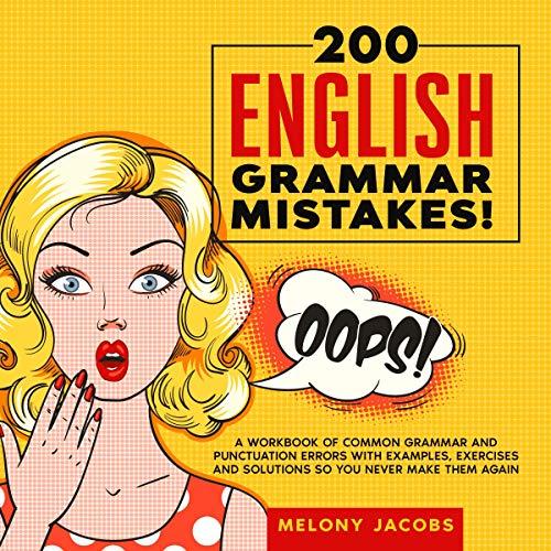 Page de couverture de 200 English Grammar Mistakes!