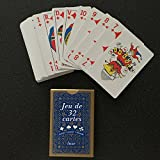Equilibre et Aventure 1 jeu de 32 cartes : poker, belote, piquet,...