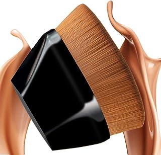 Foundation-Brush, Flawless Face Brush for Makeup Flat Top Kabuki Brush for Blending Liquid, Cream or Flawless Powder Cosmetics with Bonus Protective