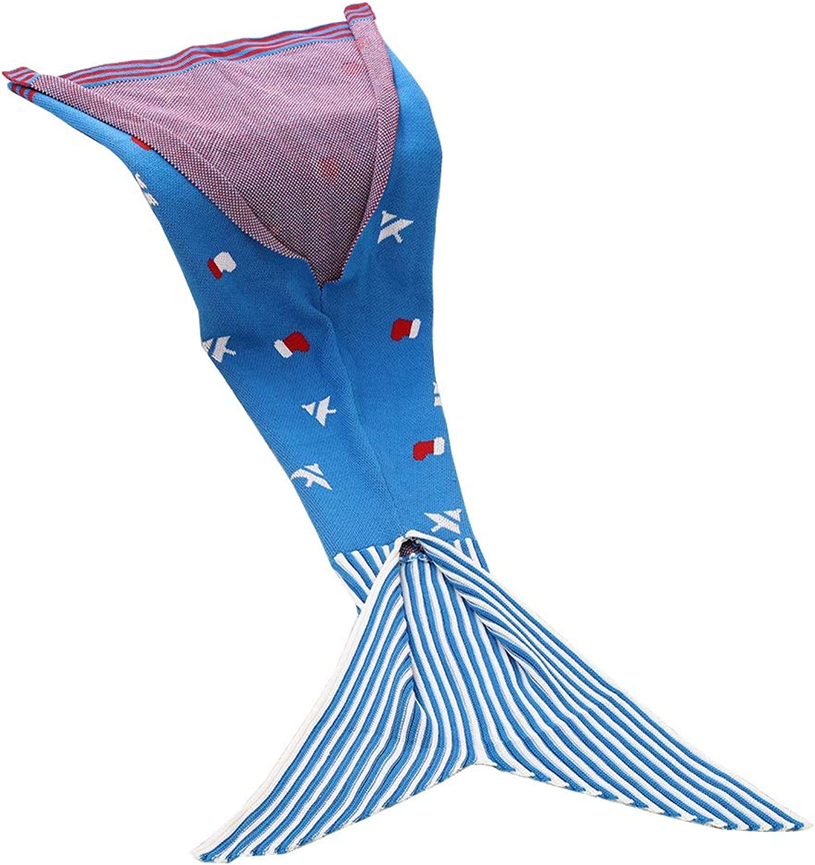 gran descuento GJFeng Mermaid Tail Blanket, para Nios, Saco De Dormir, Dormir, Dormir, Ropa De Cama, Sofá, Manta, 150x80cm  deportes calientes