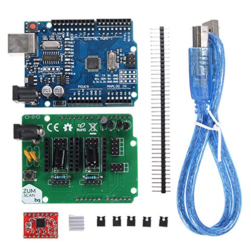 Quickbuying Scan Shield Expansion Open Source Kit Module For DIY Ciclop 3D Printer Scanner Durable Quality Unit Kit Modules