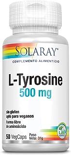 Solaray L-Tyrosine 500mg | L-Tirosina | 50 VegCaps