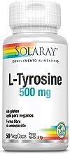 Solaray L-Tyrosine Veg Cap (Btl-Plastic) 500mg | 50ct
