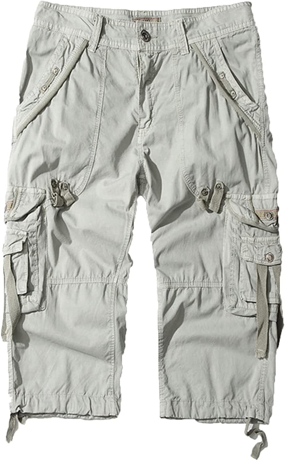 Men's Casual Straight Workout Cargo Durable Japan's largest assortment Columbus Mall Multi Pockets Short