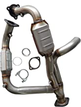 MOTOOS Front Catalytic Converter Exhaust Manifold Fit for 1999-2007 Chevy Cadillac GMC 5.3L 4.3L 4.8L (EPA Compliant)