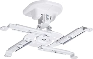 AmazonBasics Tilting Projector Bracket Mount for Ceiling and Wall 15 kg / 33lbs  Capacity White