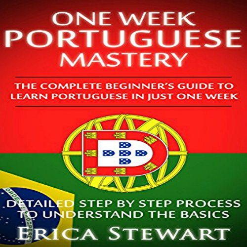One Week Portuguese Mastery audiobook cover art