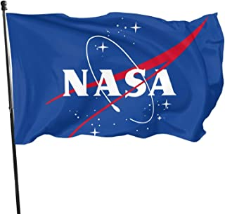 U.S. NASA Veteran Flag 3x5 FT Outdoor Banner Garden House Home Decor Flag Fade Resistant