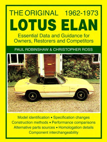 The Original Lotus Elan 1962-1973 (English Edition)