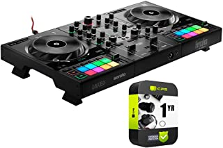 $299 » HERCULES AMS-DJC-INPULSE-500 DJControl Inpulse 500 DJ Controller for Serato DJ Lite and DJUCED Bundle with 1 Year Extended Protection Plan