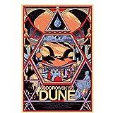 Sanwooden JODOROWSKY'S Dune Poster Wandmalerei Für