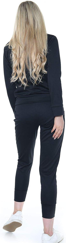 xpaccessories Women Ladies Bottoms Joggers Suit Loungewear Long Sleeve Set Top Plain Tracksuit