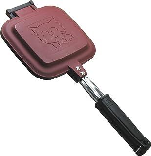 杉山金属 IH非対応 ホットサンドメーカー スマイルクッカー2