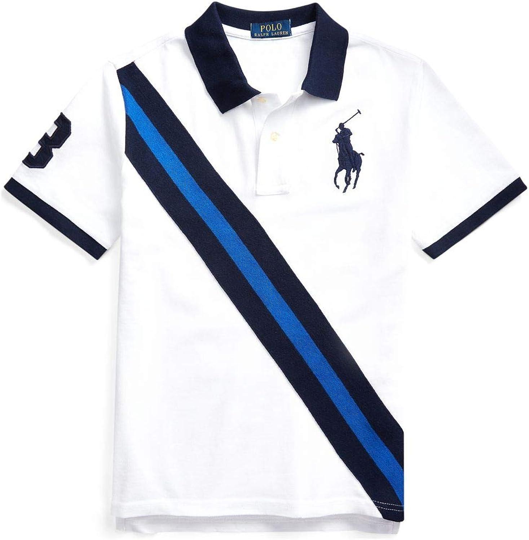 Polo Ralph Lauren Boy`s Big Pony Cotton Mesh Polo Shirt