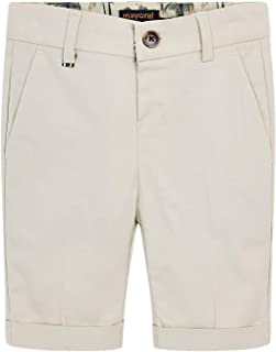 b1f137bf633 Mayoral - Tailored Linen Shorts for Boys - 3225