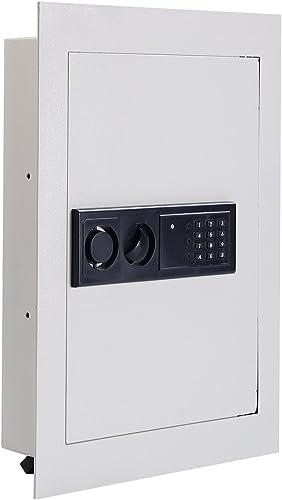 high quality Giantex online sale Electronic Wall Hidden Safe online sale Security Box,.83 CF Built-In Wall Electronic Flat Security Safety Cabinet online sale