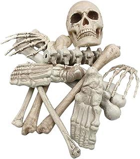 kawaayi(カワアイ)ハロウィン 飾り 装飾 デコレーション ガイコツ 置物 模型 骨 手 手首 頭蓋骨 鬼 ゾンビ 怖い グッズ 小道具 怖い ホラー 恐ろしい グッズ 骸骨 お化け屋敷の飾り