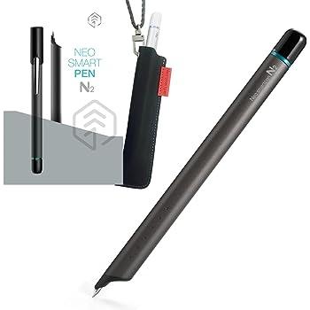 【正規品】Neo smartpen ネオスマートペンN2 ペンスリーブセット チタンブラック デジタル スマートペン NWP-F121 for iOS and Android