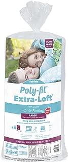 Fairfield Polyfil Extra-Loft Bonded Polyester Batting, 90
