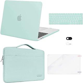 MOSISO Funda Dura Compatible con MacBook Pro 13 A2338 A2289 A2251 A2159 A1989 A1706 A1708,Plástico Carcasa Rígida&Funda Pr...