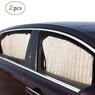 Adatto per maggior parte delle auto ZOORE Tendine Parasole Auto,Bambini Universali Parasole da auto per Finestre Laterali Protegge il Bambino e Animali Domestici Contra i Dannosi Raggi UV zanzara