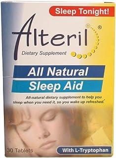 Biotab Nutraceuticals Alteril Sleep Aid with L-Tryptophan, Tablets 30 ea