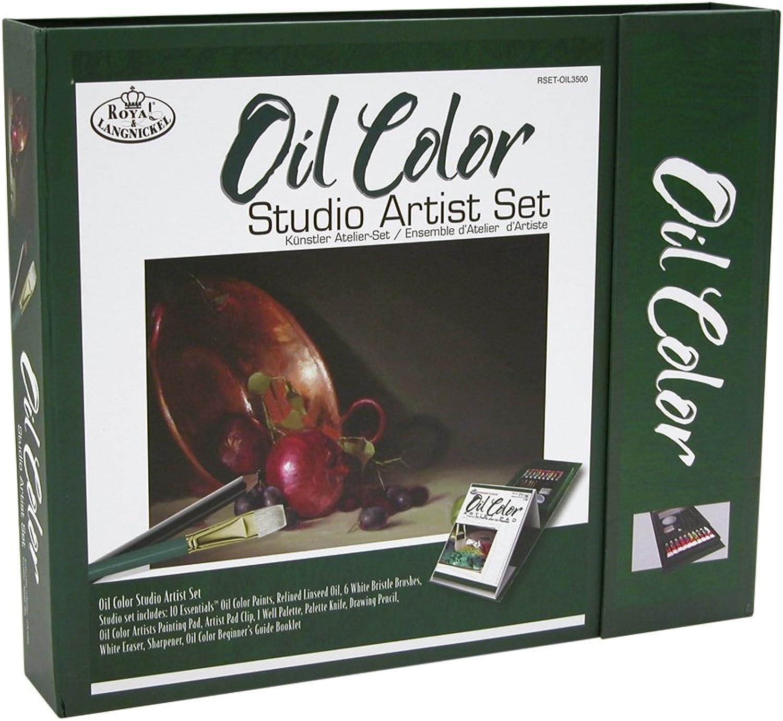 Royal & Langnickel Atelierset Ölmalerei B002OF09F0 |  Neuer Markt