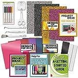 Cricut Tools Bundle Beginner Cricut Guide, Vinyl Pack,...