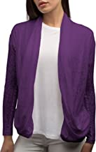 SCOTTeVEST Women Lucy Cardigan - Travel Clothing for Women - Sheer Cardigan