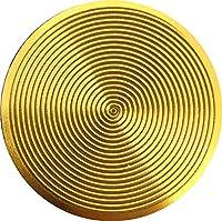iPhone&iPad用 アルミニウムホームボタン(メタリックゴールド)