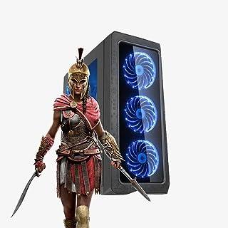 Pc Gamer Mastery Intel Core i7, 8GB RAM, GTX 1050Ti 4GB, HD 500GB, Gabinete c/LED. NFe Inclusa!!