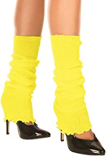 MUSIC LEGS Women's Ribbed Acrylic Footless Leg Warmers