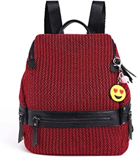 GYYlucky Oxford Cloth Backpack Korean Fashion Trend Shoulder Bag Handbag (Color : A)