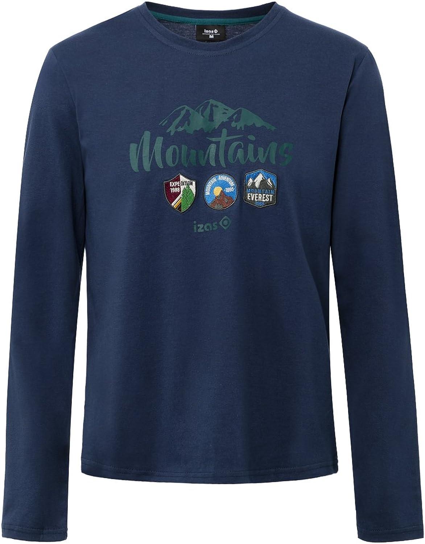 Izas Men's Devi Athletic TShirts,blueemoon Dark Aqua,LargeUS CA,XlargeEU