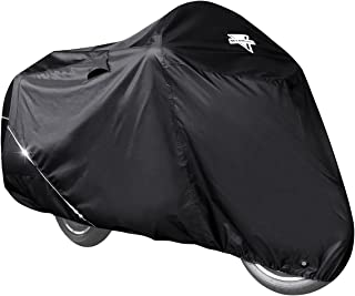 Nelson-Rigg Defender Extreme Motorcycle Cover, All-Weather, Waterproof, Fade Resistant, Vents, Heat Shield, Windshield Lin...