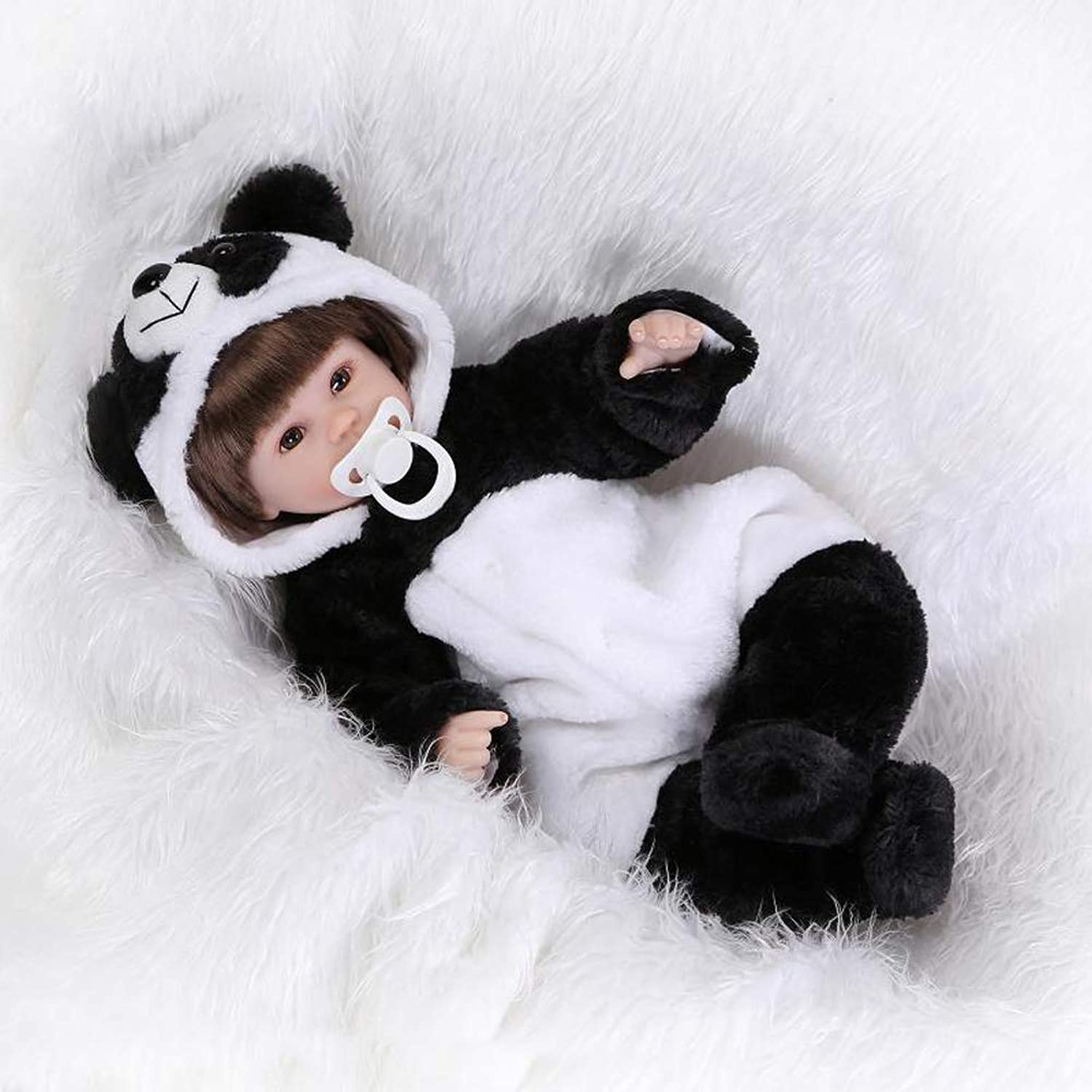 Homesave Baby Puppen 17 Zoll 42Cm Simulation Silikon Mädchen Cute Panda Adult Collection B07GS1Z3ND Spielen Sie Leidenschaft, spielen Sie die Ernte, spielen Sie die Welt  | Zürich