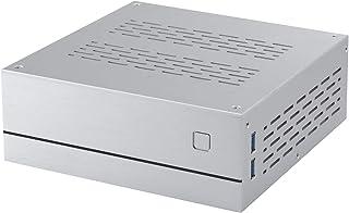 شاسی کامپیوتر دسکتاپ Goodisory A01 Aluminium Mini-ITX HTPC (Sliver Aluminium)