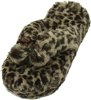 Leopard Flip Flop Slippers