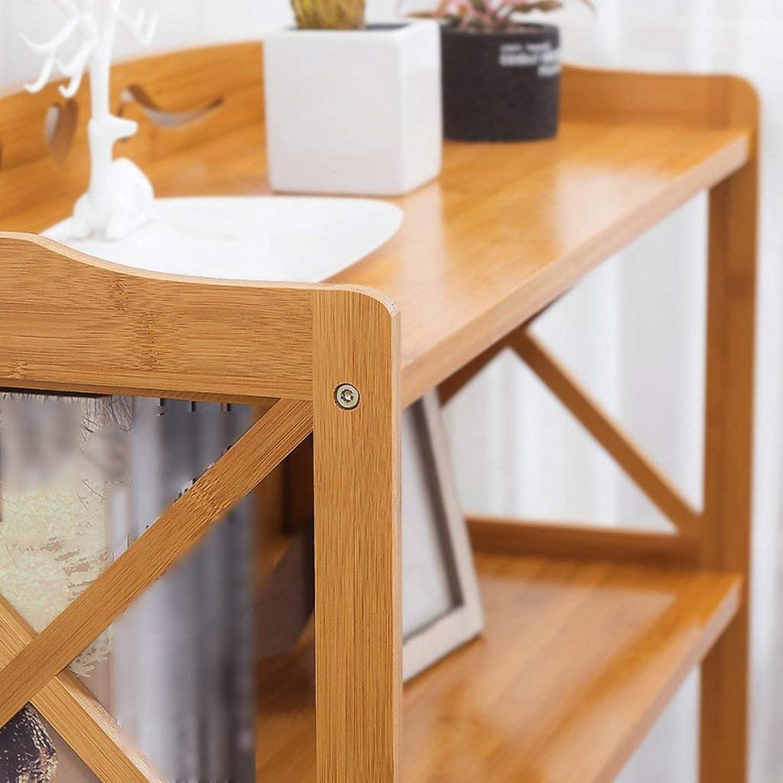 JZX Bookshelf, Solid Wood Floor-Standing Simple Bookcase