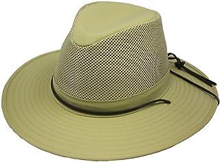 Henschel Hats Aussie Breezer 5320 Firm Mesh Khaki Hat, X-Large