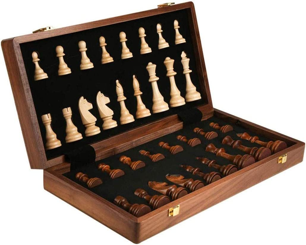MNBV Chess Chess-Solid Wood with Max 75% OFF Chessboard Shelves Pieces Max 79% OFF