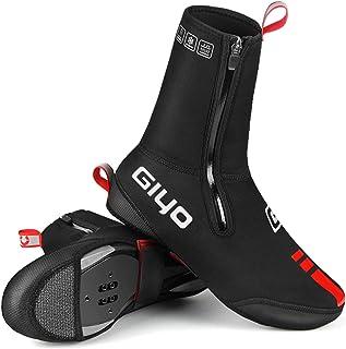 Lixada Copriscarpe da Ciclismo Invernali Impermeabile Antivento per Uomo Donne Copriscarpe Anti Scivolo Caldi per MTB Bici...
