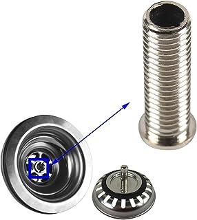 Qrity Edelstahl-Abflusssiebschraube 45 mm für ASIN B06XBSS8QJ, B0725M4MY4, B07DFDLWLK, B07DPPGWBQ, B07R9Y3CVG