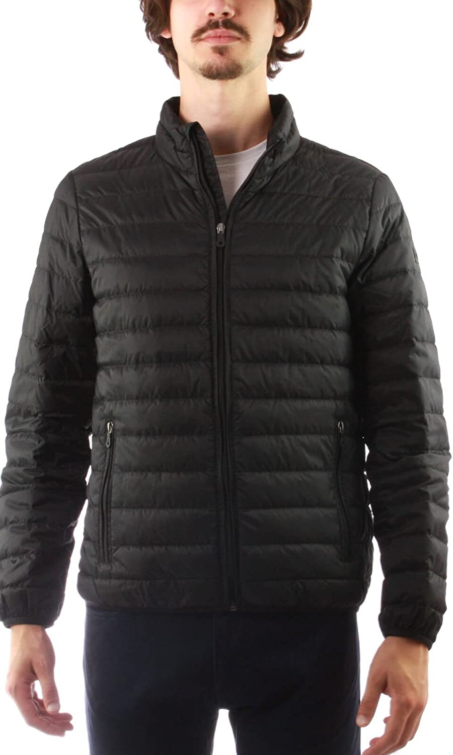 Armani Jeans Men's Packable Superior Down High material Black Jacket Large