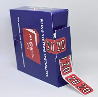 20 Year Labels, ROLL of 500, Lowest Price ON Amazon BAYM-20