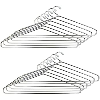 RJ ROJENO TM Steel Cloth Hanger (Heavy) - Pack of 24
