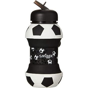 botella de agua rellenable para ni/ñas y ni/ños con cuerpo comprimible y 500/ml de capacidad Con dibujos futbol/ísticos Smiggle Goal