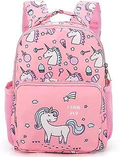 Mochila escolar con unicornio para niña, mochila de viaje para mujer y niña.