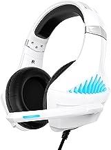 Cuffie Gaming per PS4 PS5 Xbox One, Cuffie da Gaming con microfono e Bass stereo, Microfono Riduzione del Rumore Controllo...