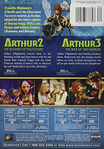 Arthur And The Invisibles Blu Ray Buy Online In Armenia At Desertcart